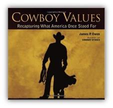 Cowboy Values Book Cover