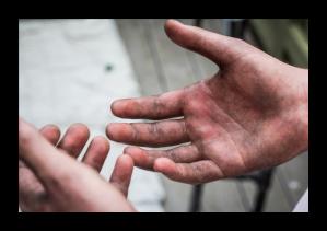 Dirty Hands Bob Strommen Blog