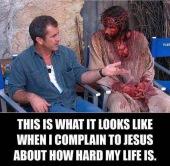complaining to jesus